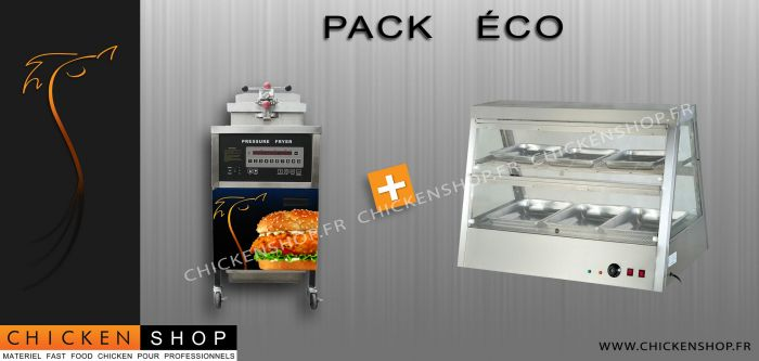Pack Eco Digitale Automatique Vitrine 1M